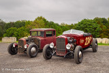 Contrasting 1930-31 Ford Model A's