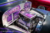 Beautifully Decorated Engine and Engine Compartment