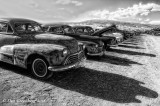Lot's of Late 1940's Oldsmobiles