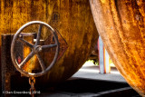 Rusted Tanker Car Abstract