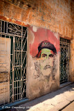 Che Partly Painted