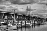 Marina by the Kent Narrows Bridge
