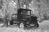 1922 White Truck in Infrared