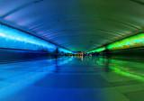 Detroit Airport Pedestrian Tunnel