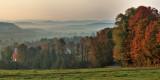 Morning Fog over Buck Hollow