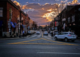Franklin Winter Sunset