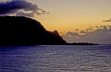 Sunset Hanalei