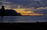 Summer Sunset, Hanalei Bay
