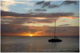 Bonaire sunset.