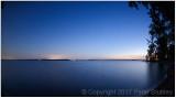 Lake Champlain blue hour.
