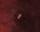 Ngc 6164-65, nébuleuse planétaire dans Norma