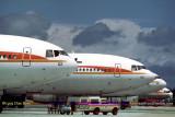 June 1979 - National Airlines McDonnell-Douglas DC-10's N62NA, N63NA, N66NA and N83NA aviation airline stock photo #US7902