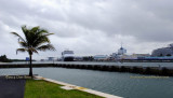 March 2014 - view of Port Everglades from Coast Guard Station Ft. Lauderdale
