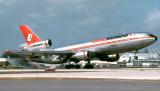1979 - Aeromexico DC10-30 XA-DUG Ciudad de Mexico rotating from runway 9-left at Miami International Airport