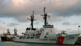 USCGC WALNUT (WLB 205) and USCGC JARVIS (WHEC 725) at USCG Base Honolulu on Sand Island