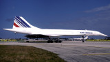 1998 - Air France Concorde F-BVFA (c/n 205) at MIA aviation airline photo