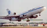October 1982 - Pan Am DC10-10 N67NA Clipper Star of Hope (ex National) takeoff at Miami International Airport aviation photo