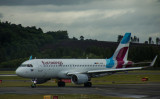 Germanwings A-320 just arrived at EDI