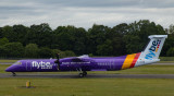 Flybe's new colour Dash-8-400