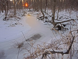 Our Creek is Mostly Frozen