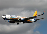 At Toulouse-Blangac, a rescue flight for another special cols 738 which arrived the previous evening