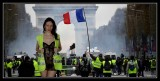 Demonstration of the yellow vests in Paris