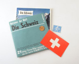 07 Viewmaster Die Schweiz Switzerland 3 Reels with Coin & Stamp Sawyer's 21 Pack 3D.jpg