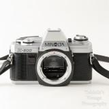 02 Minolta X-300 35mm SLR Film Camera Body with Auto 200X Flash.jpg