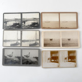 Set of 26 Amateur Shot Stereoview Cards 1920s - 1940s