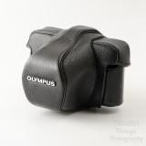 01 Olympus Black Leatherette SLR Camera Case 1 for the OM10 OM1 OM2 OM3 OM20.jpg