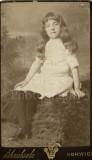 02 2 Pretty Little Girls Sisters Identified 1887 - 3 CDVs Carte de Visite Norwich.jpg