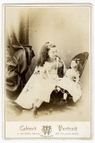 00 Victorian Edwardian Young Pretty Girl With Doll Cabinet Card Photo Brompton.jpg