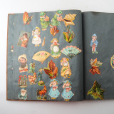 07 2 Vintage 1937 Scrap Books Albums with Stickers Animal Dogs Cats Useless Eustace.jpg