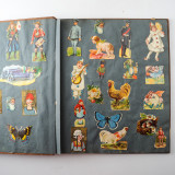 06 2 Vintage 1937 Scrap Books Albums with Stickers Animal Dogs Cats Useless Eustace.jpg