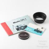 11 Minolta SR-1 SLR Camera with Rokkor 55mm f1.8 PF Lens + Extras VGC.jpg