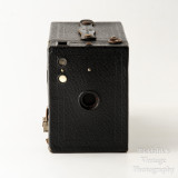 09 Kodak Brownie No. 2 Cartridge Hawk-Eye Model B 120 Roll Film Box Camera - Working.jpg