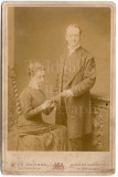 Cabinet Card Photo Constance Jane Nelson Daughter of 3rd Earl Horatio Nelson