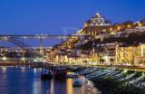 O Douro entre o Porto e Gaia