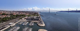 The Tagus seen from the Discoveries Monument