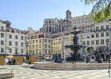 The Rossio Fountains