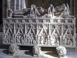 Túmulo de Dom Pedro I (Depositado no mosteiro em 1361)