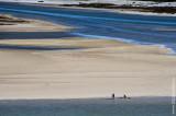 A Lagoa de Óbidos em 2 de agosto de 2017
