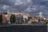 Lisbon Seen from the River Tagus