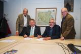 Ondertekening Sponsorovereenkomst Jan Blankenmonument