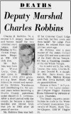 Date TBD - Obituary for Charles Burton Robbins Sr.
