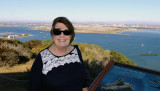 November 2016 - Karen at Cabrillo National Monument on Point Loma west of San Diego