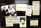 June 2015 - Babe Ruth clippings at the National Baseball Hall of Fame Museum