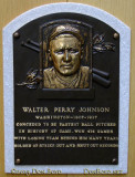 June 2015 - Walter Perry Johnson plaque in the first class of inductees into the Baseball Hall of Fame