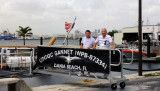 March 2014 - Chet Gay and Don Boyd at Coast Guard Station Ft. Lauderdale