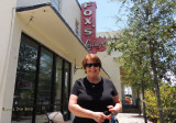 July 2015 - Karen at Fox's Sherron Inn a week before they closed after 69 years in business